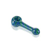 Linework Spoon Pipe - Tedrow Glass