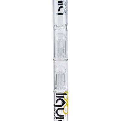 20in Dual 10 Arm Straight Tube - Liquid Sci Glass