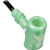Dimond Glass Classic Sherlock Hand Pipe Mint Green
