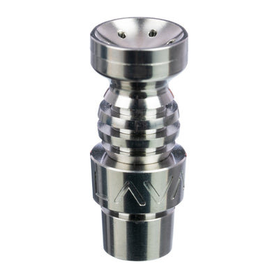 Male 14mm/18mm Domeless Titanium Nail with Showerhead Dish