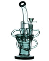 Charcoal Half Fab Egg Triple Recycler