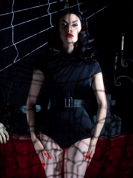 Wicked Web Dress in Black