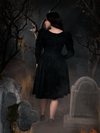 PRE ORDER - Sleepy Hollow Gothic Tales Velour Swing Dress in Black