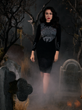 PRE ORDER - Sleepy Hollow Hessian Dress in Black