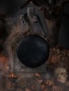PRE ORDER - Sleepy Hollow Headless Horseman Crossbody Bag in Black and White