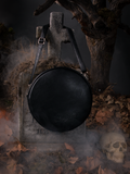 Shot of the back of the Sleepy Hollow Headless Horseman Crossbody Bag in Black and Red.