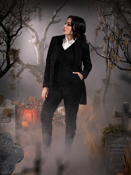 Sleepy Hollow The Katrina Dress in Black and White