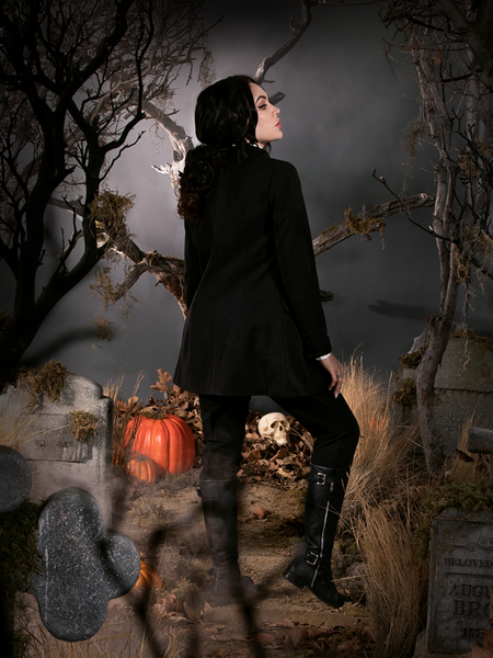 PRE ORDER - Sleepy Hollow Ichabod Coat in Black