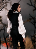 Sleepy Hollow Ichabod Vest in Black