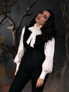 PRE-ORDER - Sleepy Hollow Ichabod Vest in Black