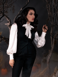 PRE ORDER - The Victorian Blouse in Ivory