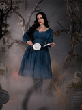 Sleepy Hollow The Lady Crane Dress in Vintage Blue