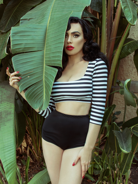 FINAL SALE - Lilith High Waisted Swim Bottom