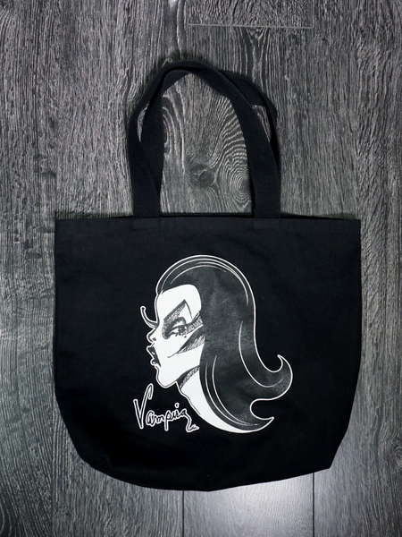 FINAL SALE - Vampira® Tote Bag - Vampira® by La Femme En Noir