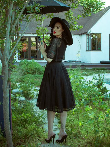 Wicked Web Circle Skirt