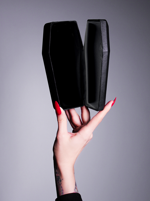 The Vamp Coffin Sunglass Case.