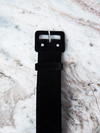Belt in Black Velvet - 1 .5 inches