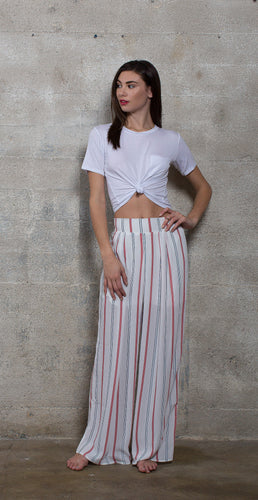 WIDE LEG PANT - STRIPE - Thieves Like Us Collection