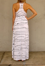 Load image into Gallery viewer, ANNA RACERBACK MAXI DRESS - SPLATTER - Thieves Like Us Collection
