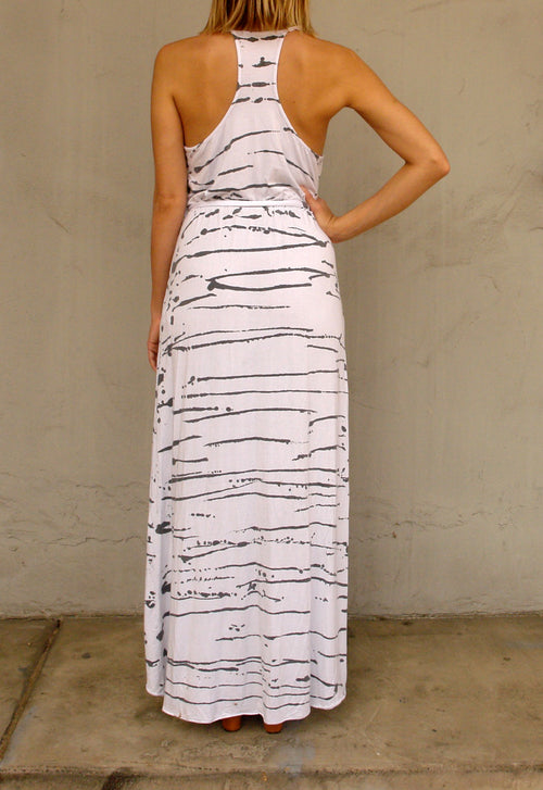 ANNA RACERBACK MAXI DRESS - SPLATTER - Thieves Like Us Collection