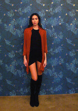 Load image into Gallery viewer, KARINA LONG JACKET - COGNAC - Thieves Like Us Collection
