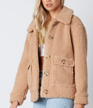 Load image into Gallery viewer, FUZZY CARGO JACKET