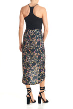 Load image into Gallery viewer, SOFIA 3/4 WRAP SKIRT - RETRO FLORAL - Thieves Like Us Collection