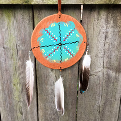 Native American Indian Zuni Fetish Turquoise Jewelry And The Crow