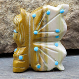Native American Zuni Fetish Carving-Dolomite Little BUTTERFLY MAIDEN-Spirit Animal-Danette Laate