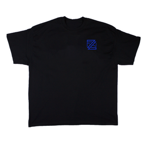 ZN (YR1) Tee: Dark Ocean/Black/White