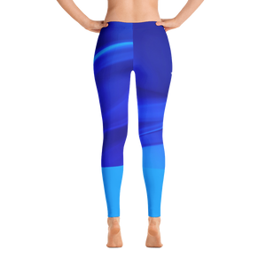 Women's Blue Spectrum Leggings