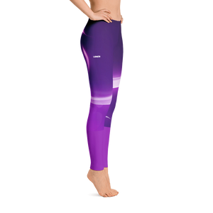 Women's Purple Spectrum Leggings