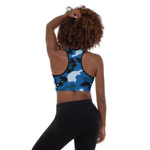 Delite Camo Padded Sports Bra