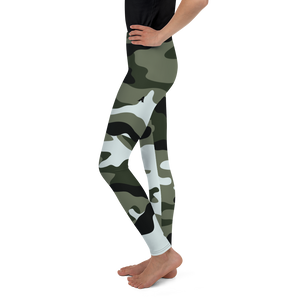 Youth Camo Leggings