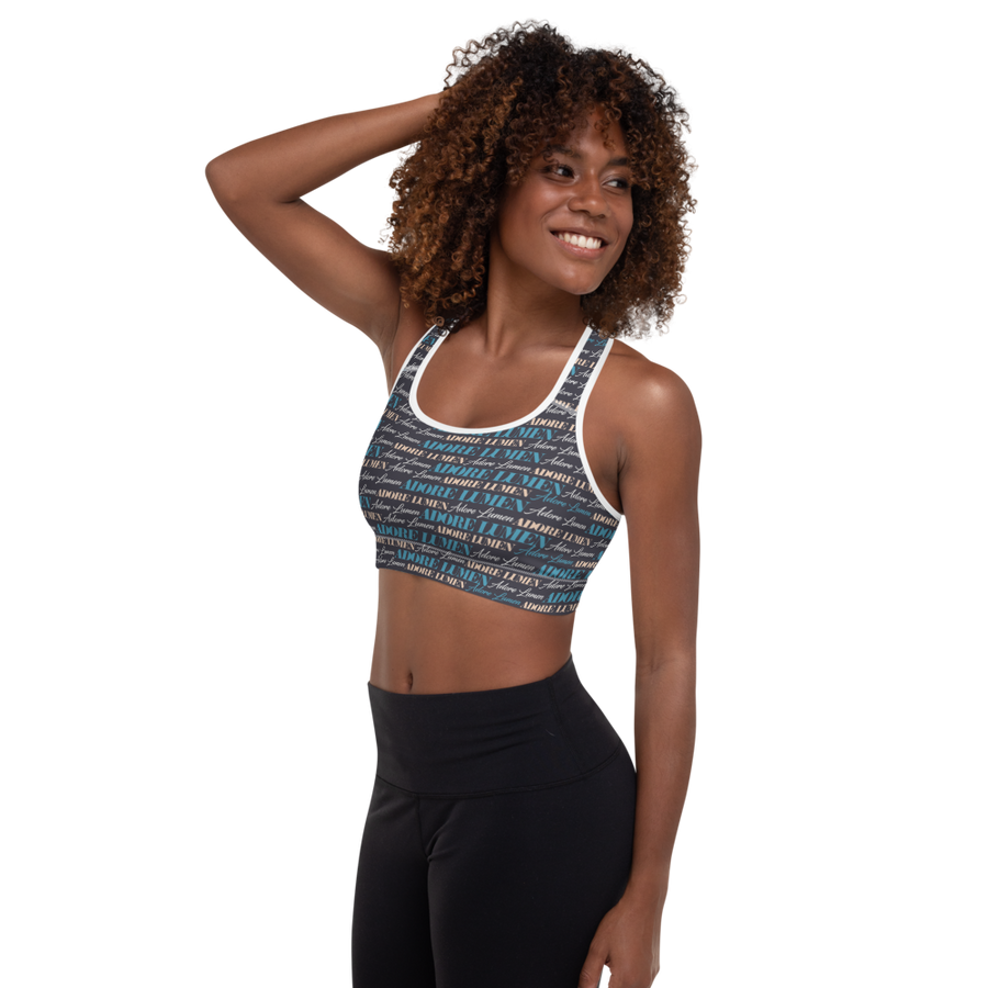 Delite Signature Padded Sports Bra