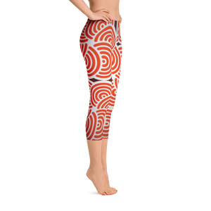 Women's Adore Maze Capri Leggings
