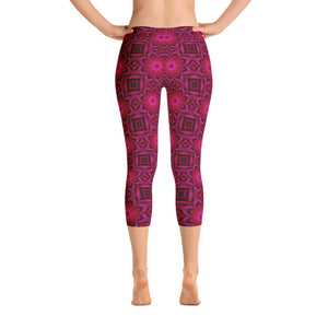 Women's Adore Blossom Capri Leggings