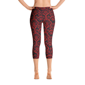 Women's Adore Vine Capri Leggings