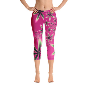 Women's Adore Petal Capri Leggings