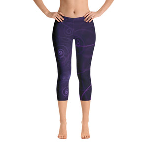 Women's Adore Galaxy Capri Leggings