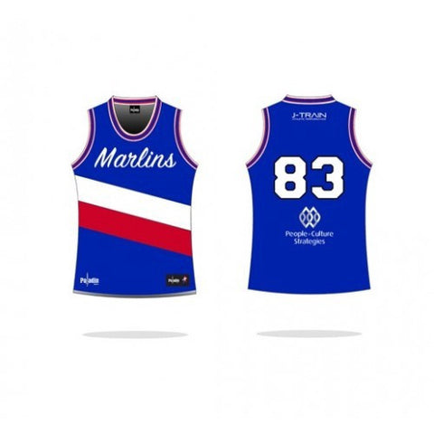 Marlins NBA Style Supporters Singlet