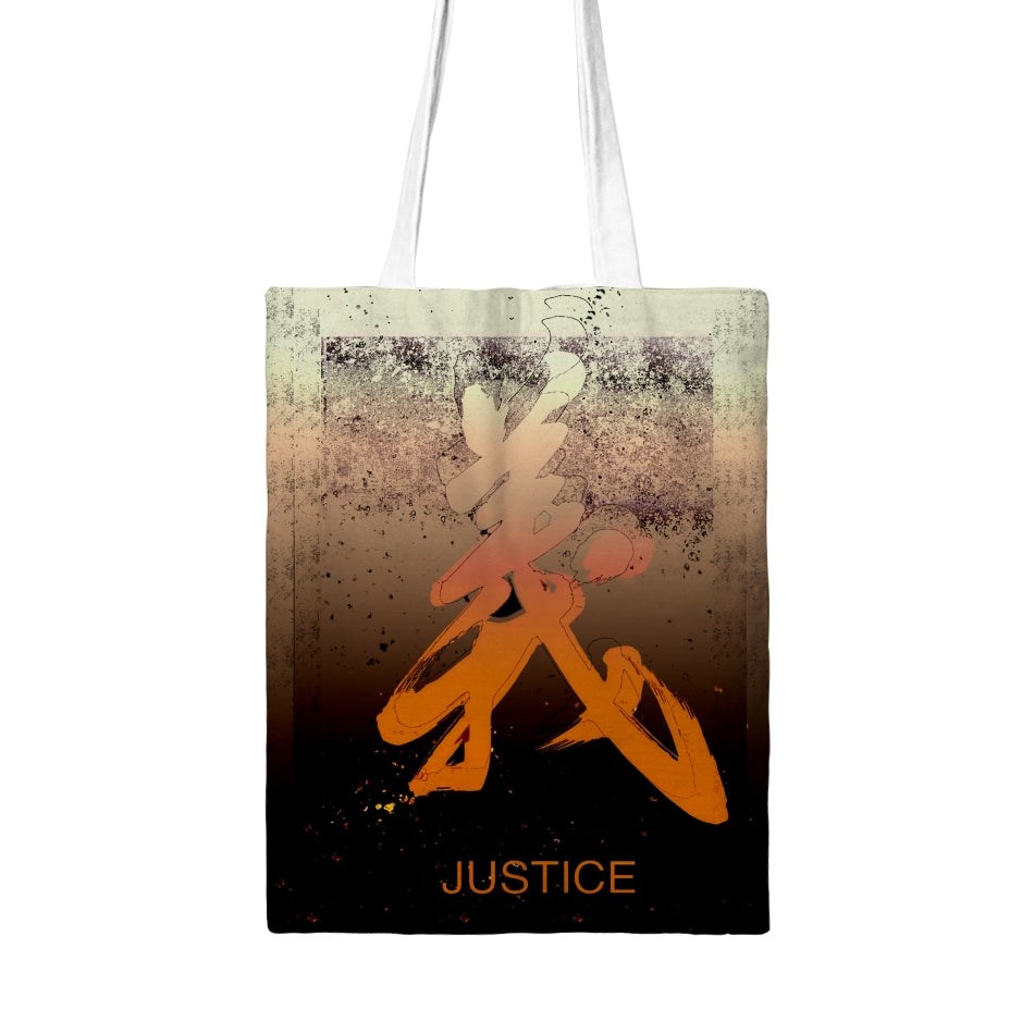 Justice Tote Bag Tall - Kirsteinfineart