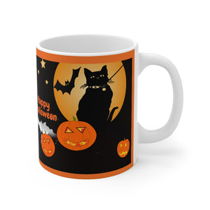 Black Cat Mug 11oz