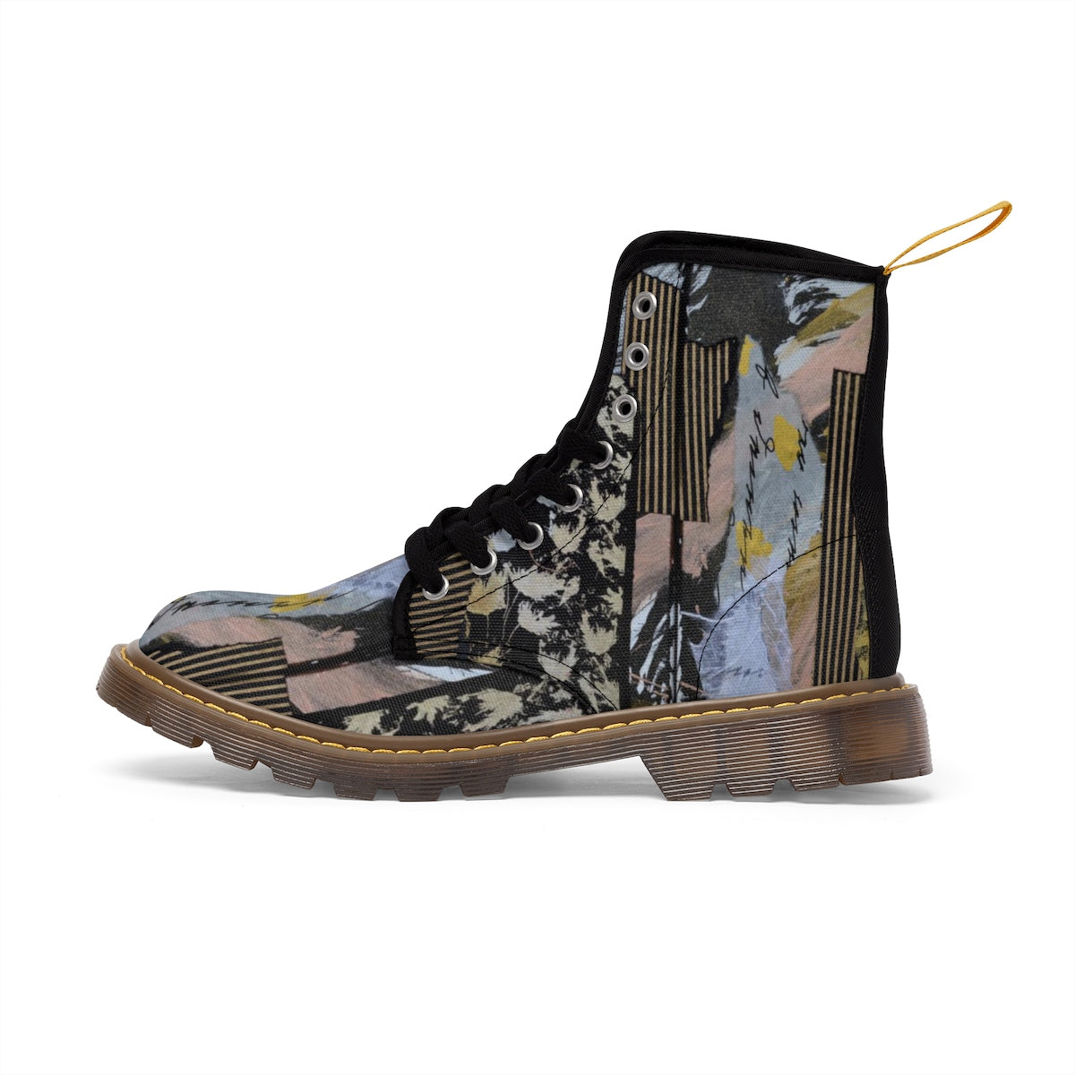 Musical Women's Canvas  Boots - Kirsteinfineart
