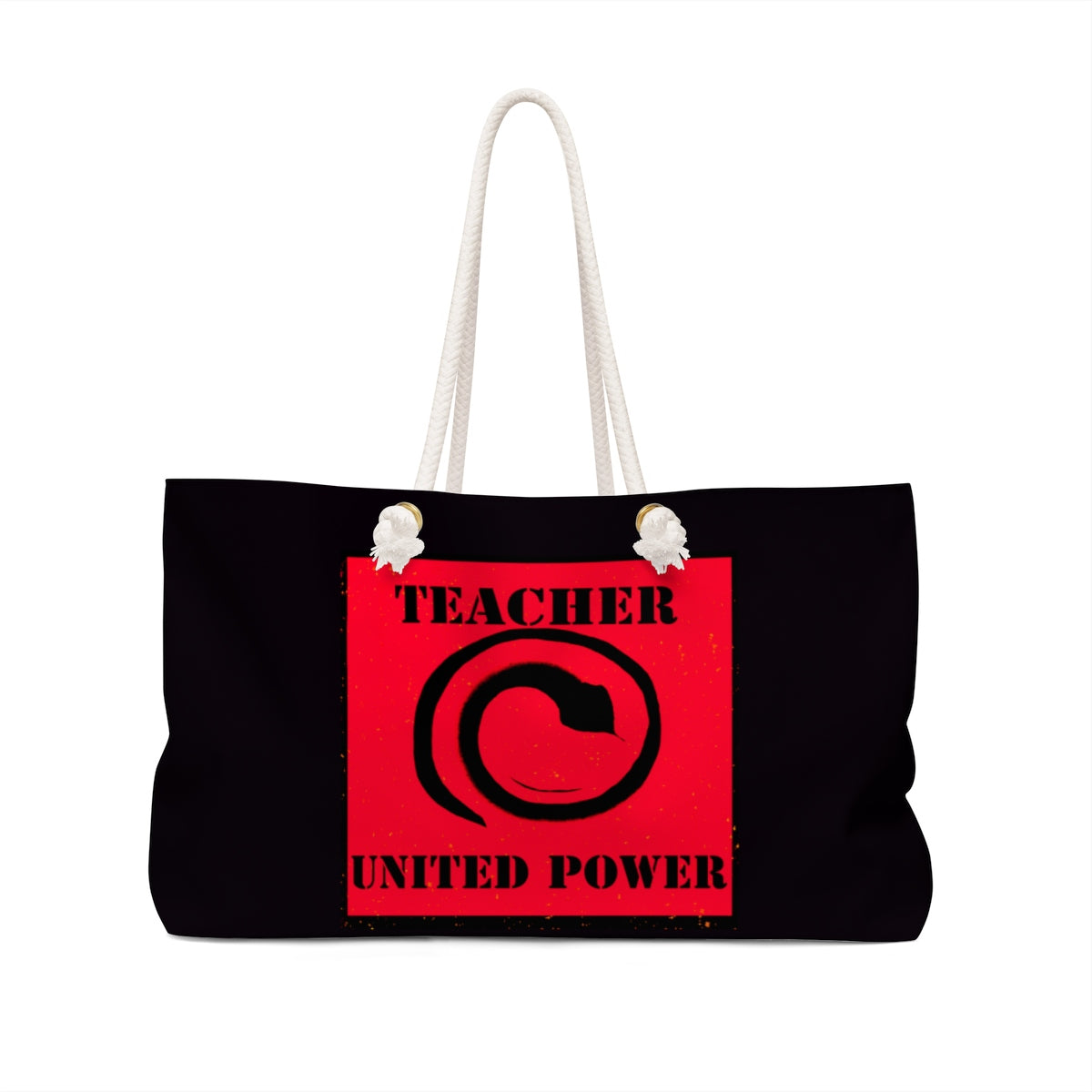 Teacher Power Weekender Bag - Kirsteinfineart