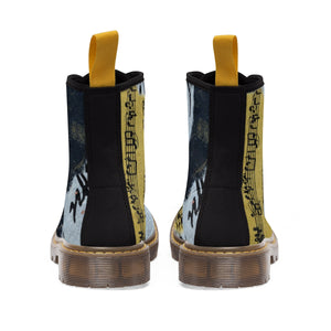 Musical Feet Women's Canvas Boots - Kirsteinfineart