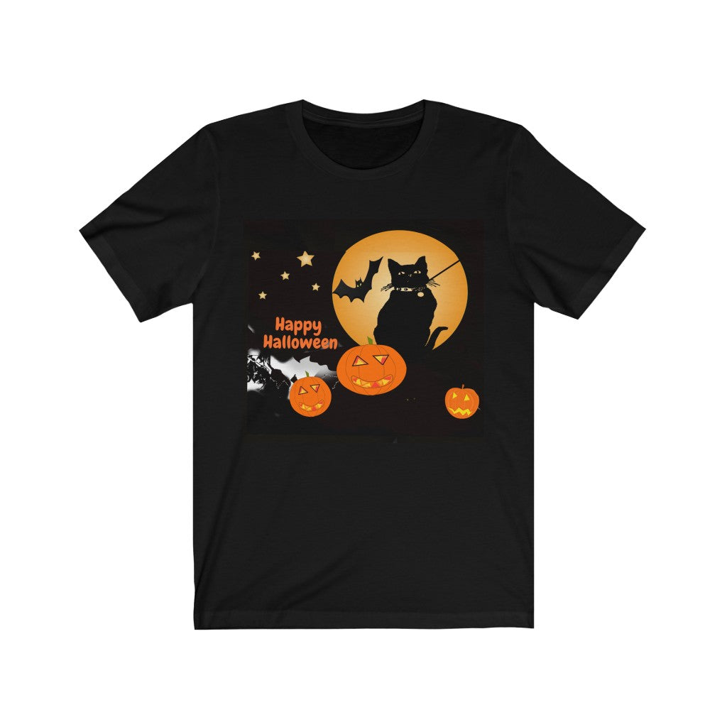 Halloweenie Fun Jersey Short Sleeve Tee For Men and Women