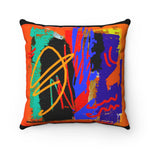 Wild and Wicked 2 Spun Polyester Square Pillow - Kirsteinfineart