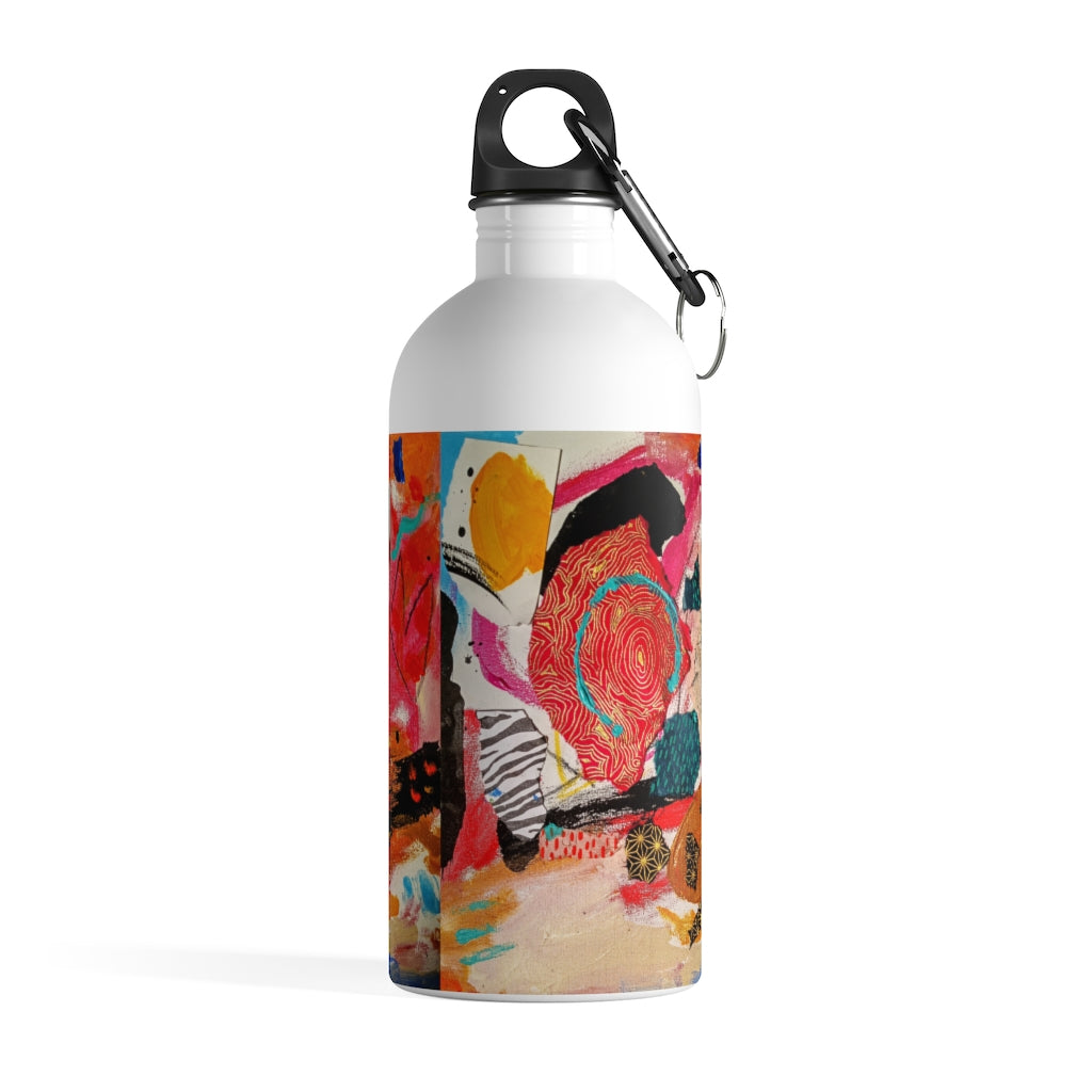 Joyfully Playing Stainless Steel Water Bottle