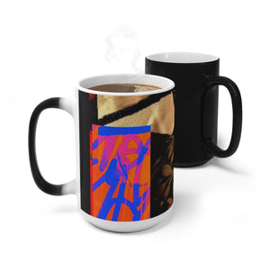 Love and Justice Color Changing Mug - Kirsteinfineart
